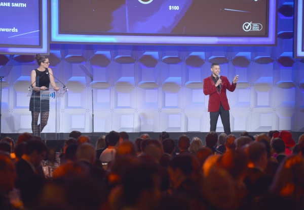 NEW YORK, NY - MAY 03:  Wilson Cruz speaks at the 25th Annual GLAAD Media Awards on May 3, 2014 in New York City.  (Photo by Stephen Lovekin/Getty Images for GLAAD)