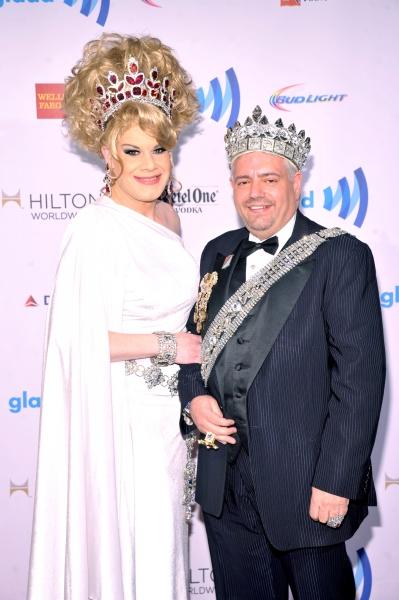 NEW YORK, NY - MAY 03:  Empress XXVIII Twinkle Montgomery (L) and Emperor XXIII Tony  Photo