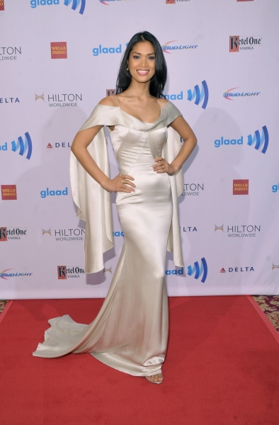 NEW YORK, NY - MAY 03:  Geena Rocero attends the 25th Annual GLAAD Media Awards on May 3, 2014 in New York City.  (Photo by Stephen Lovekin/Getty Images for GLAAD)