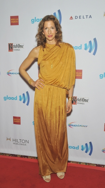 NEW YORK, NY - MAY 03:  Alysia Reiner attends the 25th Annual GLAAD Media Awards In N Photo