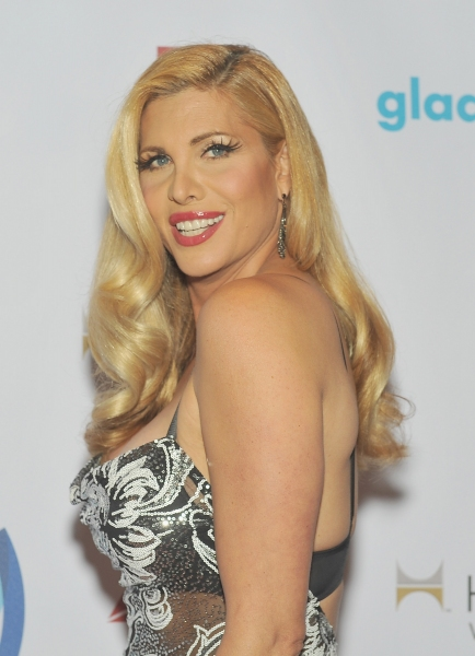 NEW YORK, NY - MAY 03:  Candis Cayne attends the 25th Annual GLAAD Media Awards In Ne Photo