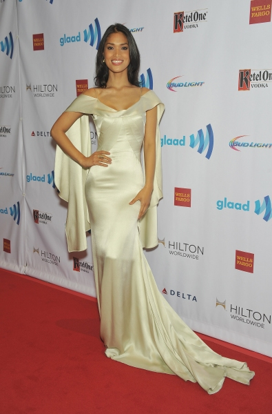 NEW YORK, NY - MAY 03:  Geena Rocero attends the 25th Annual GLAAD Media Awards In New York on May 3, 2014 in New York City.  (Photo by D Dipasupil/Getty Images for GLAAD)