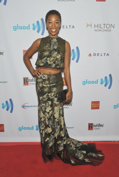 NEW YORK, NY - MAY 03:  Samira Wiley attends the 25th Annual GLAAD Media Awards In New York on May 3, 2014 in New York City.  (Photo by D Dipasupil/Getty Images for GLAAD)