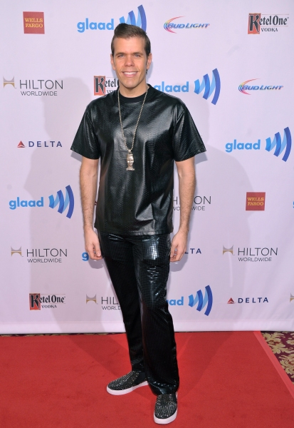 NEW YORK, NY - MAY 03:  Perez Hilton attends the 25th Annual GLAAD Media Awards on May 3, 2014 in New York City.  (Photo by Stephen Lovekin/Getty Images for GLAAD)