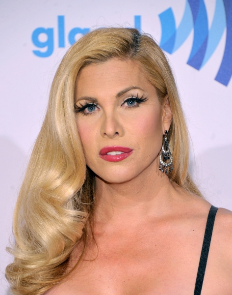 NEW YORK, NY - MAY 03:  Candis Cayne attends the 25th Annual GLAAD Media Awards on May 3, 2014 in New York City.  (Photo by Stephen Lovekin/Getty Images for GLAAD)