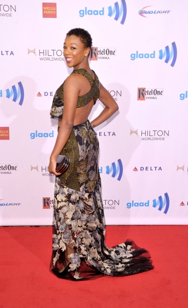 Photo Coverage: On the Red Carpet of the GLAAD Awards