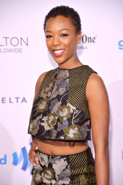 NEW YORK, NY - MAY 03:  Actress Samira Wiley attends the 25th Annual GLAAD Media Awards on May 3, 2014 in New York City.  (Photo by Stephen Lovekin/Getty Images for GLAAD)