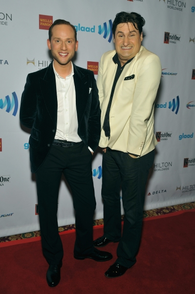 NEW YORK, NY - MAY 03:  Noah Levy and Rob Shuter attend the 25th Annual GLAAD Media A Photo