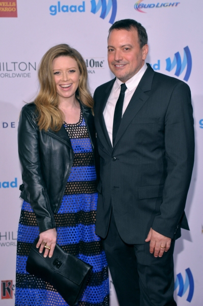 NEW YORK, NY - MAY 03:  Natasha Lyonne (L) and guest attends the 25th Annual GLAAD Media Awards on May 3, 2014 in New York City.  (Photo by Stephen Lovekin/Getty Images for GLAAD)