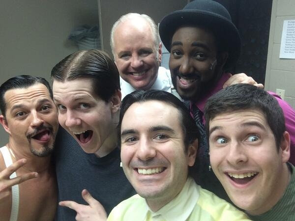 Photo Flash: Saturday Intermission Pics, 5/3, Part 2- ROCKY Snapchats Home, ALADDIN Opens Mail, and More!
