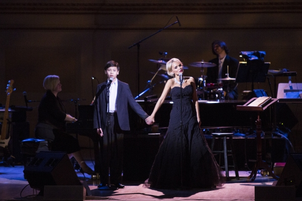 Kristin Chenoweth and Sam Poon