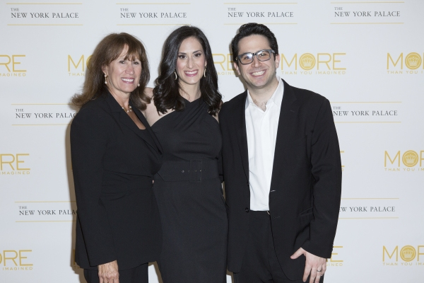 Robin Rosen, Jennifer Diamond and Robert Diamond