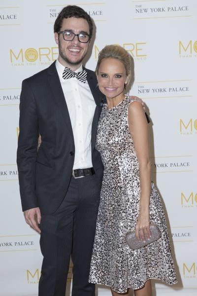 James Jarrott and Kristin Chenoweth