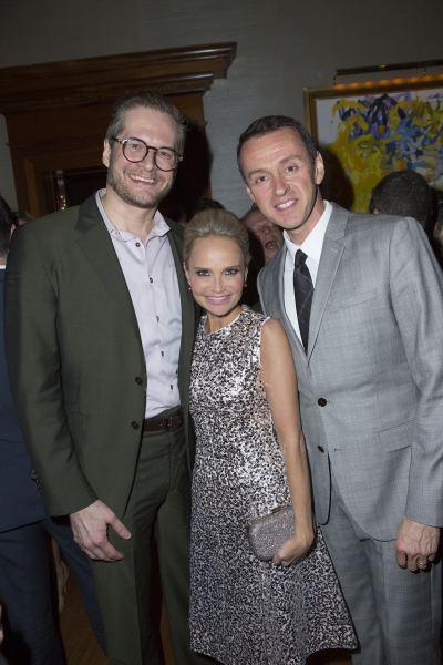 David Block, Kristin Chenoweth and Andrew Lippa