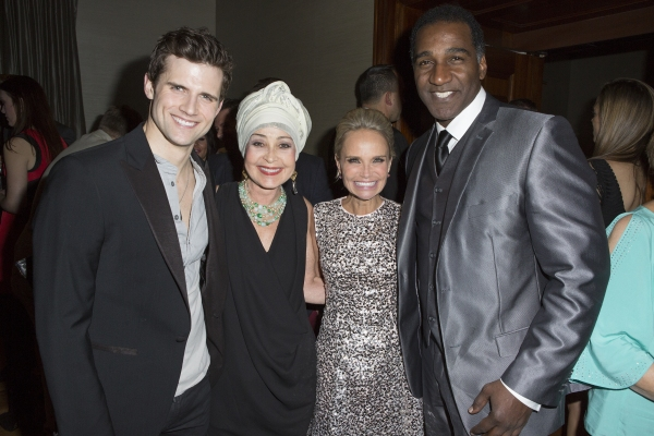 Kyle Dean Massey, Annie Potts, Kristin Chenoweth and Norm Lewis