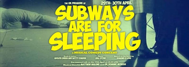 Cast & Creative Team Talk UK Premiere Of Styne's SUBWAYS ARE FOR SLEEPING