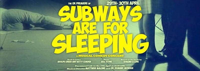 Cast & Creative Team Talk UK Premiere Of Styne's SUBWAYS ARE FOR SLEEPING