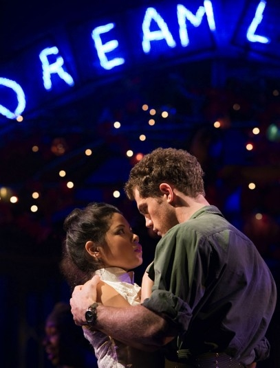 Eva Noblezada, Alistair Brammer (Photo: Michael Le Poer Trench)