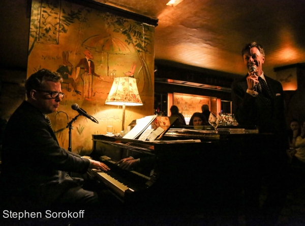 Photo Coverage: Jim Caruso and Billy Stritch Return to Bemelmans Bar