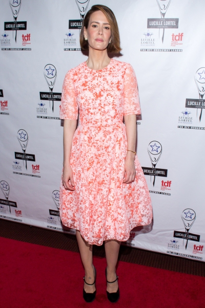 Photo Coverage: On the Red Carpet of the 2014 Lucille Lortel Awards- Part One