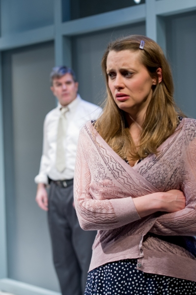 Photo Flash: First Look at Madeleine Lambert and Jim O'Brien in The Gamm's BLACKBIRD