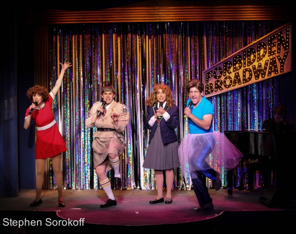 Photo Coverage: FORBIDDEN BROADWAY COMES OUT SWINGING Celebrates Opening Night