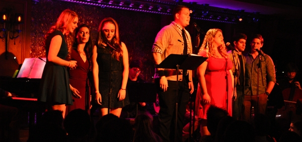 Abby Slocum, Emma Love, Nicolette Burton, Chris Frazier, Bonnie Milligan, Justin Anthony Long and Phil Sloves sing Maglione & Ruiz