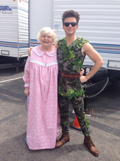 Chris Colfer Shares Behind The Scenes Video Of PETER PAN Tribute On This Week's GLEE