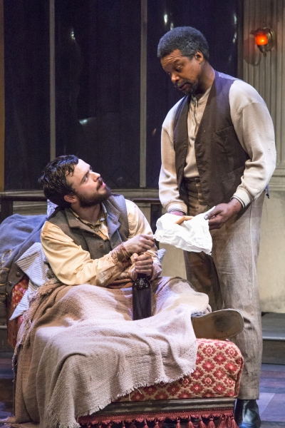 BWW Reviews: Stages Repertory Theatre's THE WHIPPING MAN is Intensely Riveting