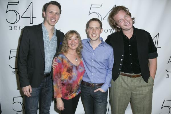 Michael Deleget, Joan Reid , Jonathan Read Gealt and Adam Armstrong Photo
