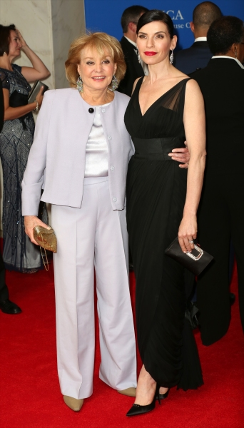 Barbara Walters and Julianna Margulies  Photo
