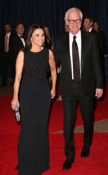 Julia Louis-Dreyfus and Brad Hall Photo