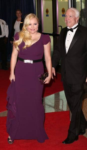 Megan McCain and John McCain  Photo