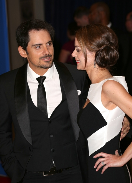 Brad Paisley and Kimberly Williams-Paisley  Photo