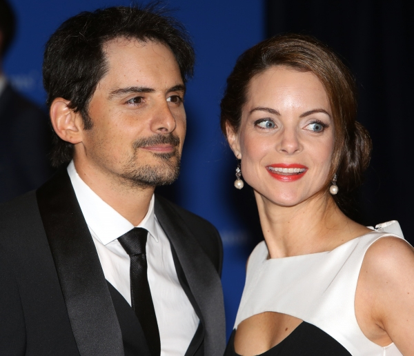 Brad Paisley and Kimberly Williams