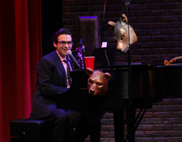 Photo Coverage: Joe Iconis and Family Visit Murderous Musical Mondays at MURDER FOR TWO!