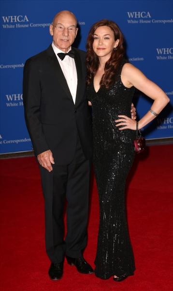 Patrick Stewart and Sunny Ozell Photo