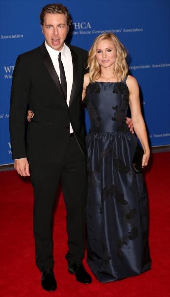 Dax Shepherd and Kristen Bell