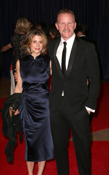 Sarah Burnstein and Morgan Spurlock
