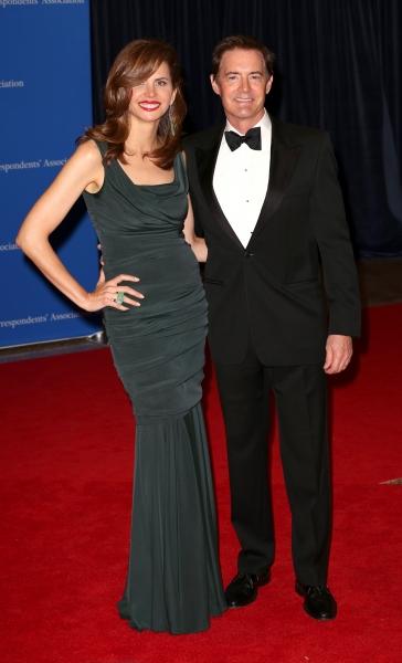 Desiree Gruber and Kyle MacLachlan  Photo