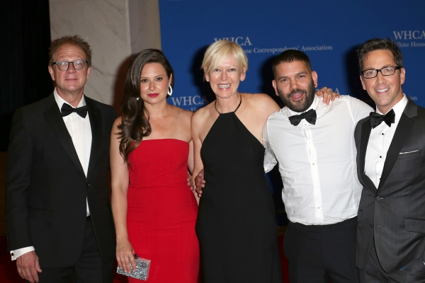 Jeff Perry, Katie Lowes, Joanna Coles, Guillermo Diaz and Dan Bucatinsky Photo