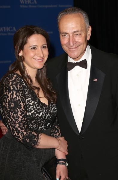 Jessica Schumer and Chuck Schumer Photo
