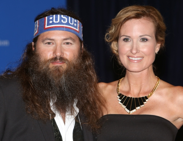 Willie Robertson and Korie Robertson