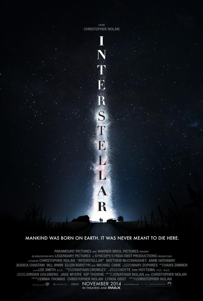 FIRST LOOK - New Poster Art for Christopher Nolan's INTERSTELLAR