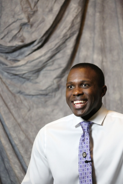 In the Spotlight Series: In the Tonys Photo Booth with Nominee Joshua Henry