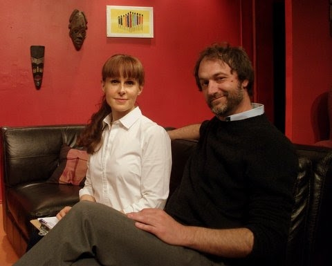Christine Wolfskehl and Tom Chace