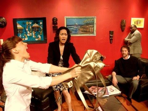 Christine Wolfskehl, Hannah Lum, Tom Chace, and Amos Hamrick