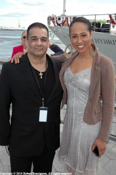 Antonio Meneses Saillant and Margot Bingham