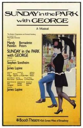30 Days Of The 2014 Tony Awards: Day #28 - SUNDAY IN THE PARK WITH GEORGE Turns 30