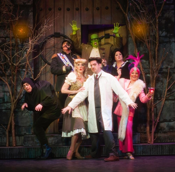 Photo Flash: First Look at Rivertown Theaters' YOUNG FRANKENSTEIN, Opening 5/9